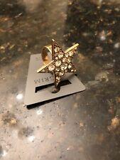Pilgrim Yellow Gold Plated Star Ring
