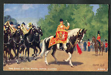 Posted C1950s Illustrated View of the Band of the Royal Horse Guards