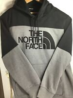 New Authentic The North Face Black Gray Hoodie NF0A47  XL
