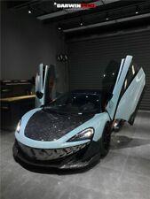 DarwinPRO McLaren 600LT Forged Carbon Fiber Full Lip Kit With Hood Bonnet