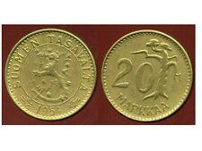 FINLANDE 20 markkaa  1954   ( bis )