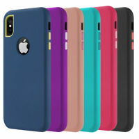 For iPhone 8 Plus XR XS Max X 7 6s Plus Case Cover Protective Rugged Shockproof