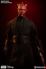 Darth maul sideshow/hot toys 1/6 figure (duel sur naboo) ray park uk en stock maintenant