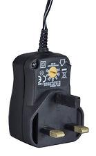 Universal Adaptador de red 3v 4.5 6v 7,5 9v 12v 1000ma/1a Transformador Adaptador
