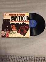 James Brown, Say It Loud I'M Black And I'M Proud, VG+(Vinyl)
