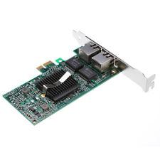 Intel 82575eb Dual Rj45 Port 1gbps Pci-e X1 Ethernet Gigabit Server Adapter NIC