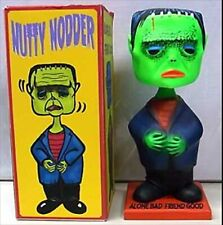 TIKIBRAIN NUTTY NODDER ASTRO ZOMBIES Limited Green Monster KAIJU Figure RARE F/S