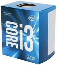 Intel Core i3-7100 7th Gen Core 3.90 GHz Desktop Processor BX80677I37100