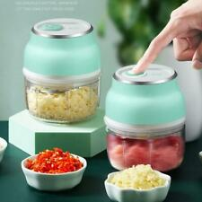 Electric Fruit Vegetable Onion Garlic Cutter Food Speedy Chopper Slicer