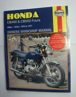 HAYNES workshop manual  HONDA CB400 FOUR 1973-1977  (ENGLISH LANGUAGE VERSION)