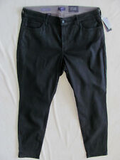 NYDJ Not Your Daughter's Jeans Alina Skinny Jean/Legging-Black-Sze 16W-NWT $168