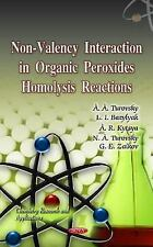 Chemistry Research and Applications: Non-Valency Interaction in Organic...