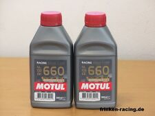 25,60€/l Motul RBF 660 Racing Bremsflüssigkeit 2x500 ml