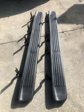 2018 GMC Sierra Chevrolet Silverado OEM running boards crew Cab Used