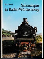 SCHMALSPUR in BADEN-WÜRTTEMBERG (Chemin de fer allemand)