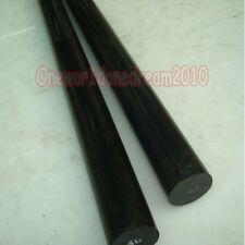 1x Nylon Polyamide PA Extruded Plastic Round Rod Stick Stock Black 25mm x 250mm