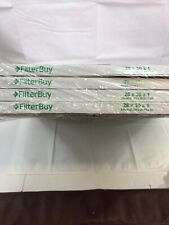 FILTER BUY MERV 8, Pleated Air Filter 28 x 30 x 1 - LOT OF 4