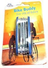 MULTIFUNZIONALE ACCIAIO Bicicletta BUDDY PER CYCLE blocco ATTREZZO