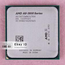 Free shipping AD3870WNZ43GX AMD A8-Series A8-3870K CPU Processor 3GHz Socket FM1