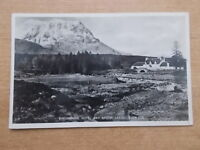 VINTAGE POSTCARD - THE KINGSHOUSE HOTEL AND SHRON CREISE - GLEN COE