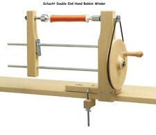 Bobbin Winder Schacht Double End; wind spool or pirns. or Ashford Winder