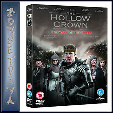THE HOLLOW CROWN: THE WAR OF THE ROSES - COMPLETE SERIES 2 *BRAND NEW DVD***