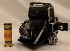 Zeiss Ikon Super Ikonta 531 3.5/7.5cm Tessar Camera & Kodacolor II 120 Film