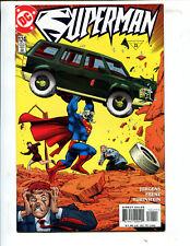 SUPERMAN #124 A HARD DAYS NIGHT! (9.2) 1997