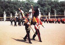 Postcard King's Regiment in London Regimental Sergeant Major Wellington Barracks