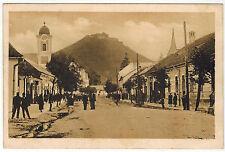 Masarik Street, Khust, Western Ukraine/Czechoslowakia, 1917