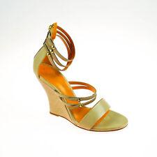 2.Wahl Kennel & Schmenger Damen Pumps Sandalen Leder Beige Orange Größe 38