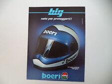 advertising Pubblicità 1983 CASCO HELMET BOERI BIG