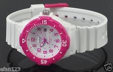 LRW-200H-4B Weiß Rosa Casio Damenuhren 100M Datumsanzeige Analog Nagelneu