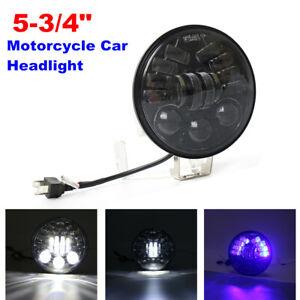"""5-3/4"""" 5.75"""" 12V Motorcycle Headlight Halo Round Projector LED Sealed Beam 6500K"""