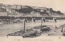LYON 48 le pont saint-clair sur le rhône coteau de la croix-rousse