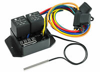 Digital Electric Thermatic® Fan Switch Kit (12 & 24V) (PART #0444)(Davies Craig)