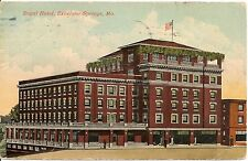 Royal Hotel Excelsior Springs MO Postcard 1913