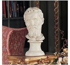 """18"""" Italian Renaissance Man Sculptor Michelangelo Home Gallery Bust Sculpture"""