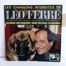 Chansons interdites de LEO FERRE Les rupins ... 70393