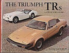 Triumph trs Graham Robson TR1 TRX TR2 TR3 TR3A TR4 TR4A twin cam TR7 TR6 racing