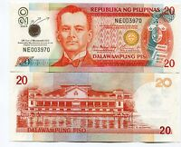 Philippines 2005 20 Piso United Nations Paper Money XF