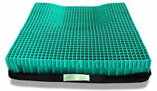 "Equagel ""The Protector"" Gel Seat Cushion - 20W x 18D x 2.5""  USA made - NEW"