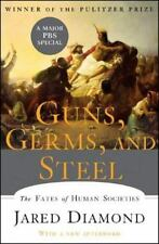 Guns, Germs, and Steel : The Fates of Human Societies by Jared Diamond (2005,...