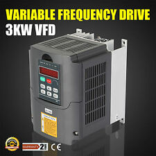 3KW 4HP Frequenzumrichter Variable Frequency Driver 3 Phase VSD 220V Fähigkeit