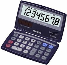 Casio Sl100ver Calculatrice de Poche pliable Conversion Euro