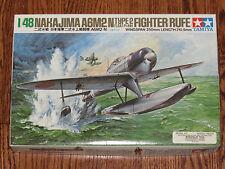 Tamiya 1/48 Japan Navy WWII Nakajima A6M2-N Type 2 Float Plane Fighter Rufe NIB