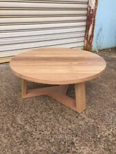 Oak Living Room Round Tables