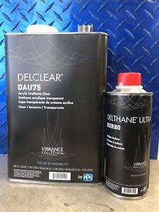 PPG DELSTAR - DAU75 URETHANE CLEARCOAT & DXR80 HARDENER