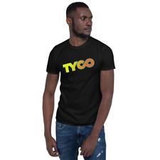 Tyco nite glow shirt 70s 80s model train HO scale toy hobby Tee niteglow night