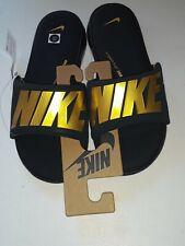 **** Nike Ultra Comfort 3 Men's Size 9 Slide Sandals Green Gold AR4494-302 Thong